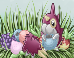 Berries Wurmple Pokedex Contest by Caithlyn