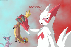 Yungoos Meet Zangoose by SuperSonicGX