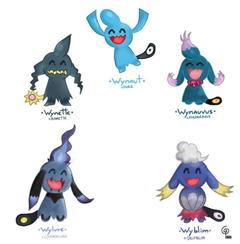 Pokemon Breed Variations
