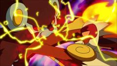 Pokemon Infernape Vs Luxray