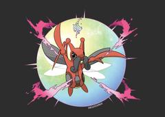 Pokemon Stellar Pearl Mega Kricketune by Diegotoon20