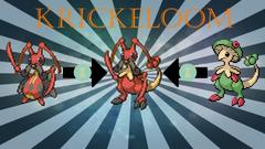 REUPLOAD Pokemon Sprite Fusions Kricketune Breloom the making of