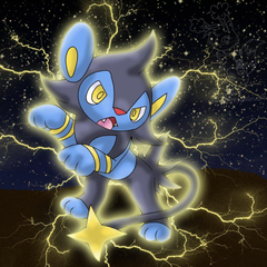 Luxio by aWWEsomeSoph