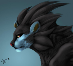 Luxray by Chaotic