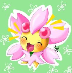 My hiper cherrim by Kitsune