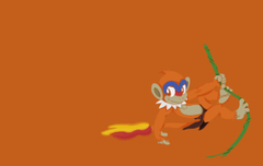 Monferno as Young Tarzan wallpaper by PoKeMoN
