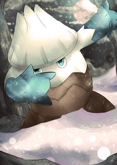 pokemon and snover Bild
