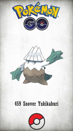 Character Snover Yukikaburi
