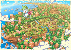 Pokemon Mystery Dungeon image Explore of Sky