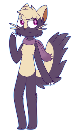 Anthro Stunky Custom For Ally by UrbanQhoul