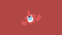 Minimalistic Wallpaper Rotom Pokedex