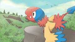 I drew an Archen pokemon
