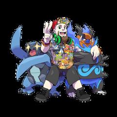 Pokemon Streamer x Carracosta x Shiny Emboar