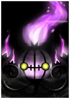 Pokemon Chandelure by MayaIdanan