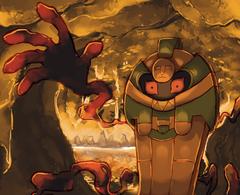 pokemon and cofagrigus Bild