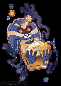 Cofagrigus by bluekomadori deviantart on DeviantArt