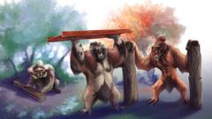 Conkeldurr Evolution Line by Ultyzarus