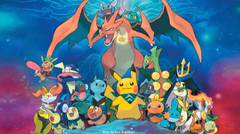 Pokemon Super Mystery Dungeon art by Ken Sugimori I think this is