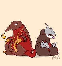 Heatmor Pokemon Heatmor Pokemon With Heatmor Pokemon Pokemon