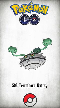 Character Ferrothorn Nutrey