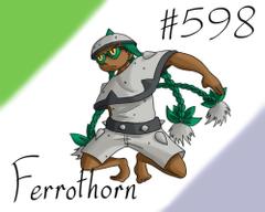 Pokemon Gijinka Project 598 Ferrothorn by JinchuurikiHunter on