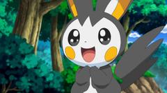 Cutest Pokemon image Iris Emolga HD wallpapers and backgrounds