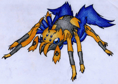 Image of Galvantula Evolution