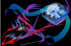 Frillish Vs Chandelure by juming5