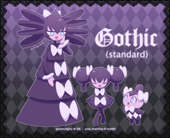 Pokémon Nicknames Gothita Gothorita and Gothitelle