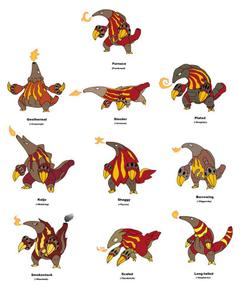 Heatmor variations by JWNutz