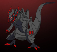Shiny Haxorus by LordMacguffin