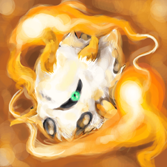 Larvesta Used Flame Charge by redricewine