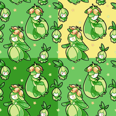 Lilligant Wallpapers by EmeraldOx