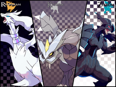 Unova Dragons Wallpapers by Xous54