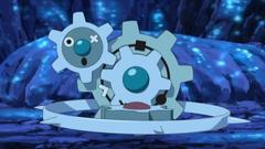 Nintendo pokemon video games landscapes cave artwork Klinklang