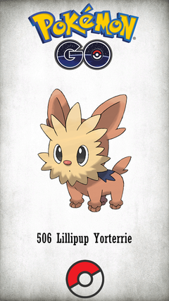 Character Lillipup Yorterrie