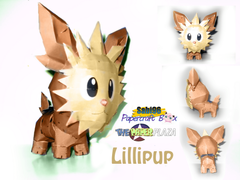 Sabi96 Papercraft Box Lillipup