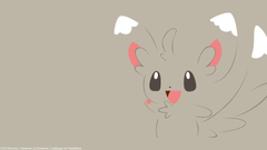 Minccino Minimal Pokemon Pokemon Generation V HD Wallpapers
