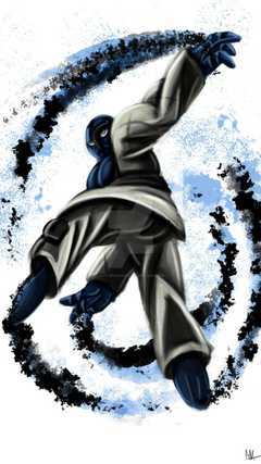Sawk street fighter style by Kyo