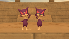 Purrloin Sisters by kuby64