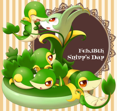 snivy and serperior