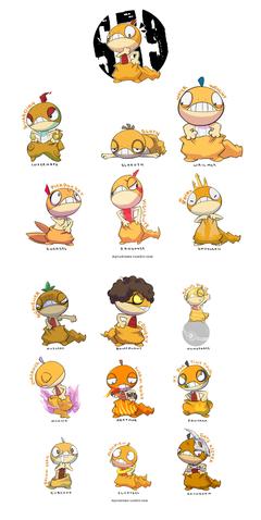 Pokemon Crossbreeds Scraggy