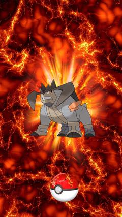 639 Fire Pokeball Terrakion Terrakion 17