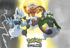 Pokemon Kami trio
