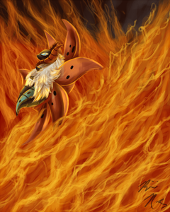 Volcarona used FIERY DANCE re by PyroFishies