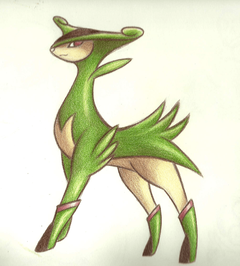 Virizion by Phoelion