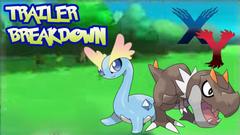 Pokemon X and Y Trailer Breakdown New Fossil Pokemon