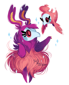 Painted my two favorite Pokemon Spritzee and