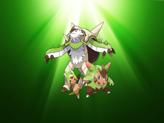 Chespin Evolution wallpapers by XxNinja