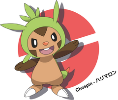 Chespin by LkikiL